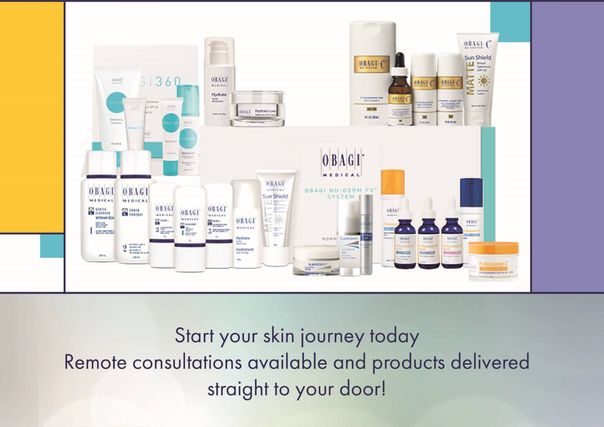 Obagi Online Consultations and Product Delivery